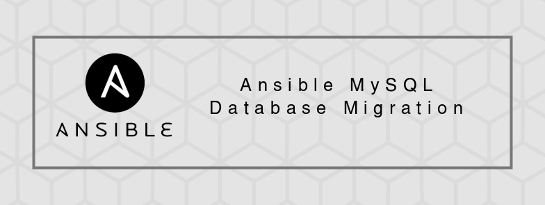 How to copy MySQL databases using Ansible | Infinity++